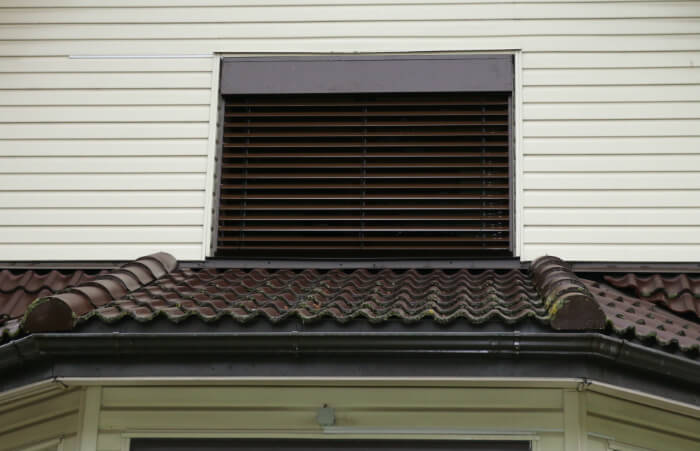 Outdoor/ facade aluminum venetian blinds