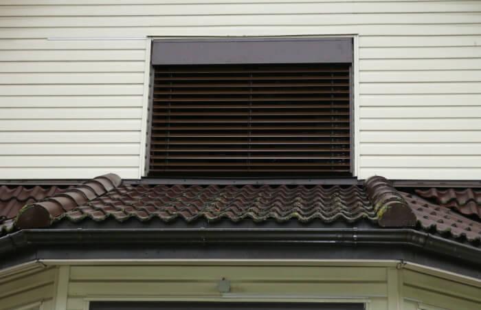 Facade Outdoor Venetian Aluminum Blinds 187 Lite Blinds