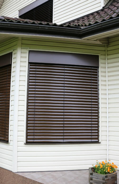 Facade Outdoor Venetian Aluminum Blinds 187 Lite Blinds