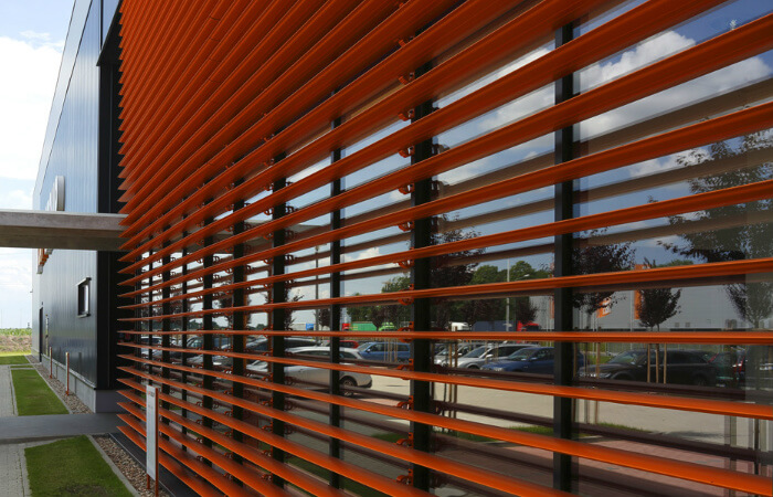 Sunbreakers Facade Shading Solution 187 Lite Blinds