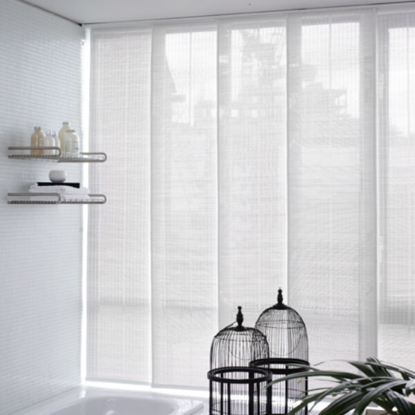 Blinds - Vertical, Roller, Roman, horizontal aluminum and wood, panel systems, Pleated, Bamboo, motorized blinds