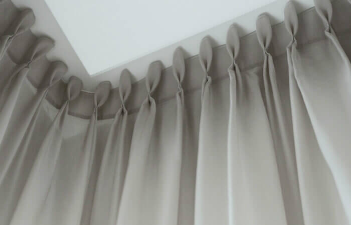 Special curtain voile solution