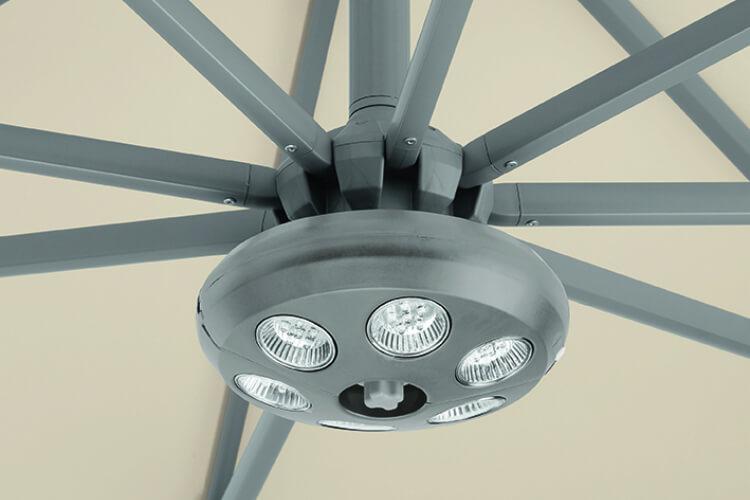 Sombrano S+ saulessarga LED apgaismojums