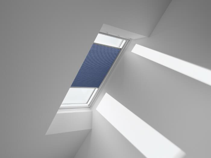 VELUX jumta logu plisētās žalūzijas