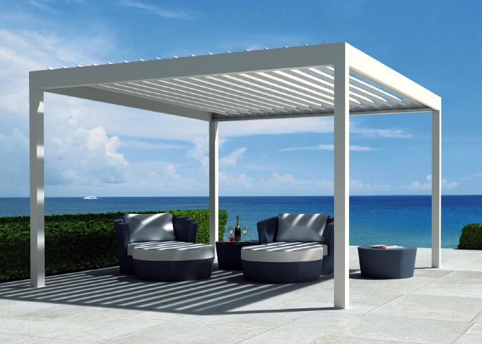Algarve - terrace covering/ pergola (RENSON - Belgium)