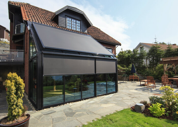TopFix MAX F - complete solution for outdoor roof (covering area up to 30m2); RENSON