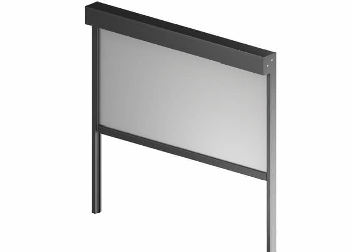 Zip fasade blind
